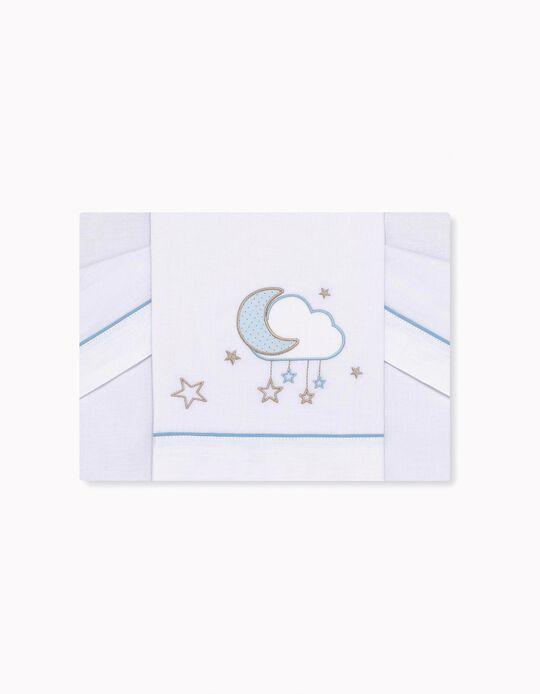 Juego de Sabanas para Minicuna Nube Petit Star 3 piezas.