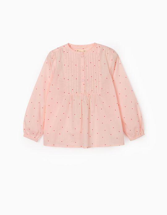 Blusa para Niña 'Hearts', Rosa