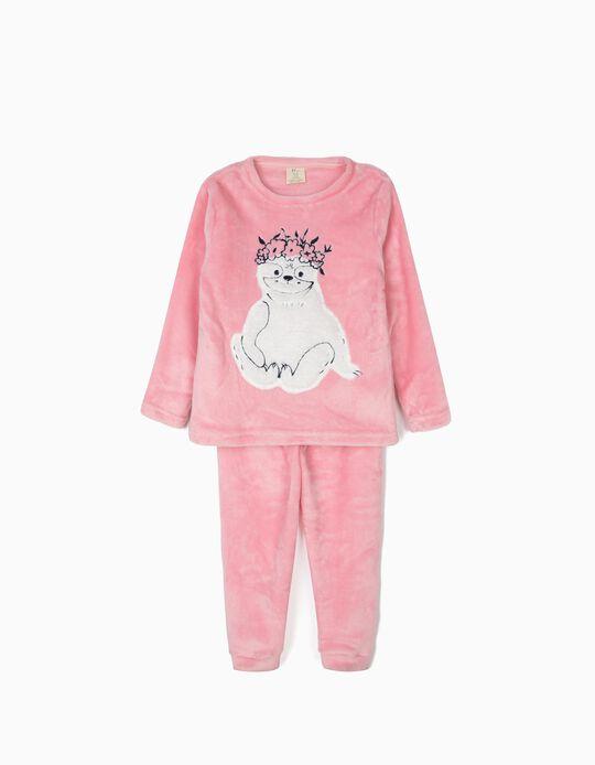 Pijama para Menina 'Queen Sloth', Rosa