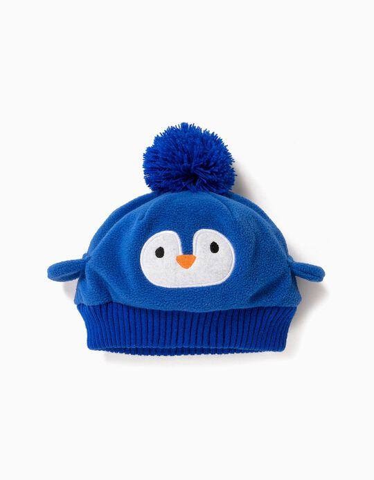 Gorro Pinguim Azul