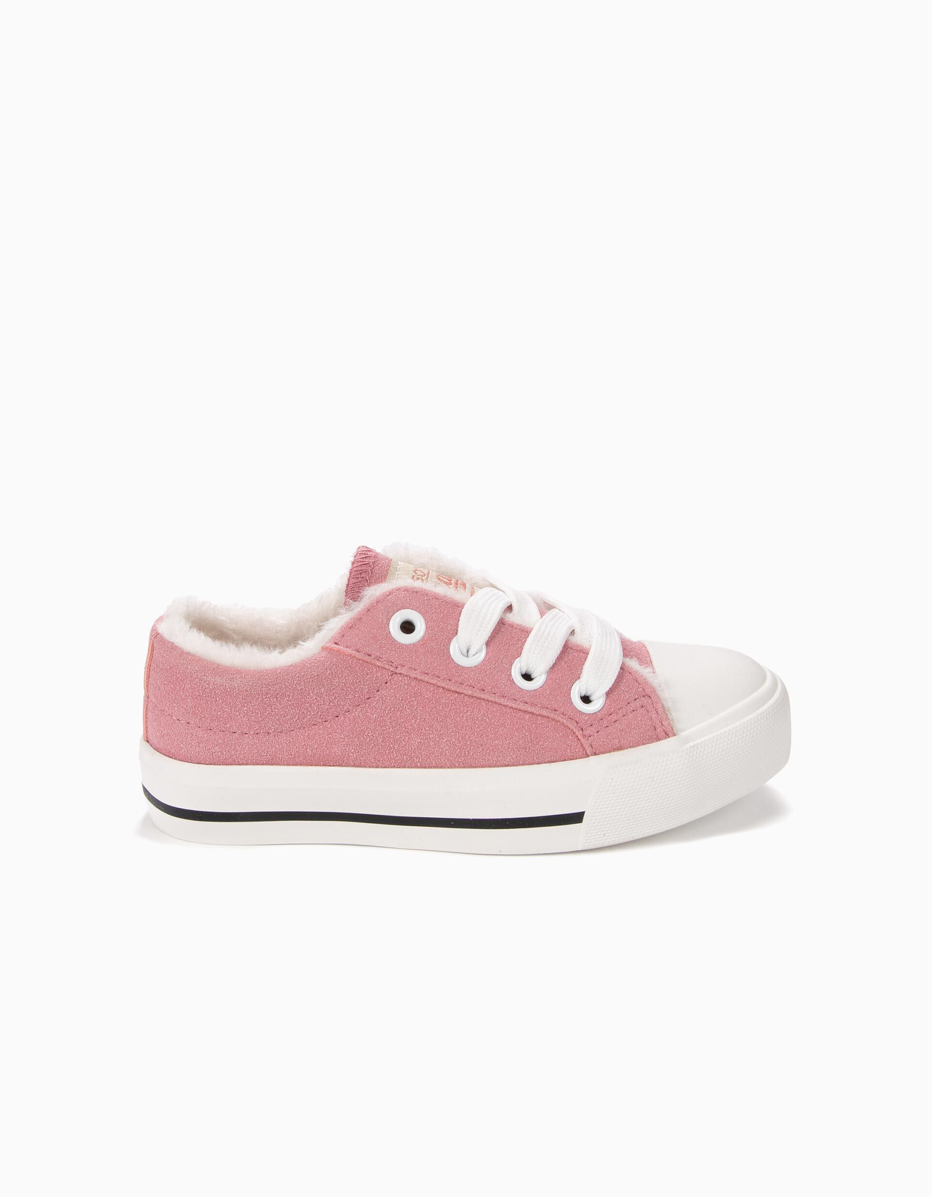 converse rosa claro niña