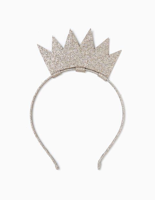 Bandolete para Menina 'Princess', Dourado