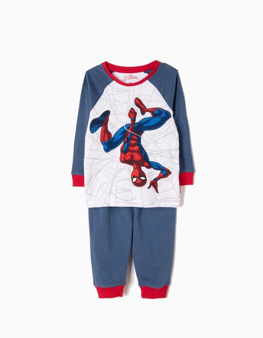 Pijama Manga Larga y Pantalón Spider-Man