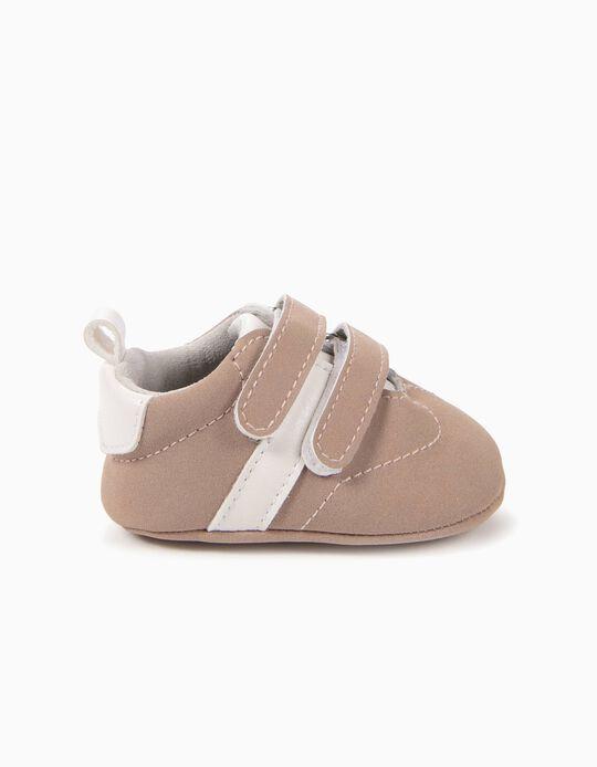 Zapatillas Pre-Walker Rosa y Blancas