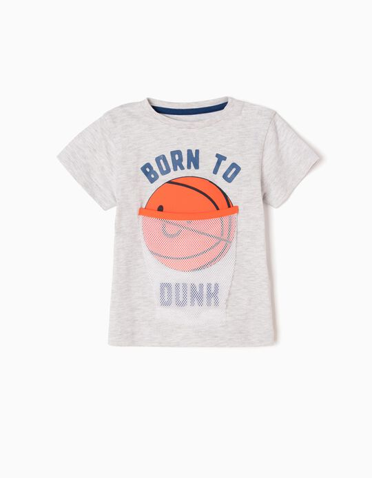 Camiseta Estampada Born To Dunk