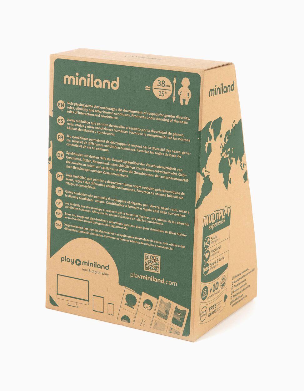 Boneca Multicultural  'B&S' 38 cm Zippy x Miniland