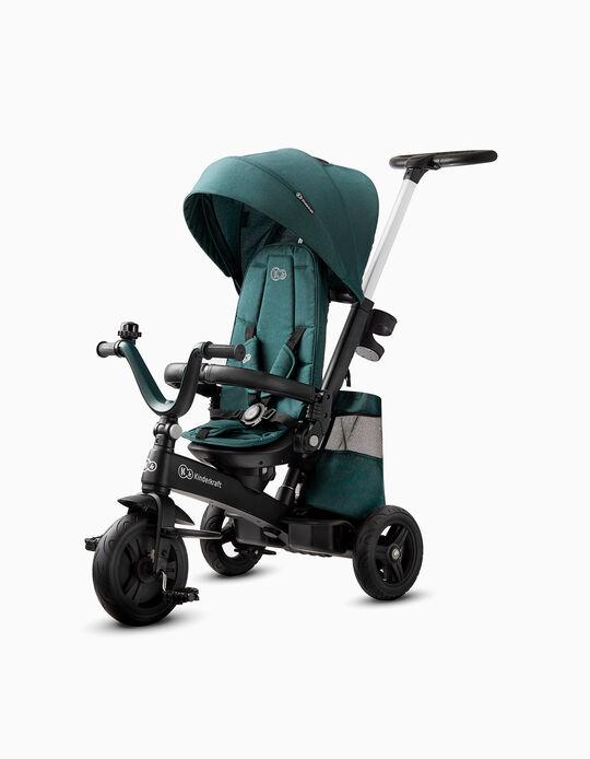 Easytwist Tricycle by Kinderkraft, Midnight Green