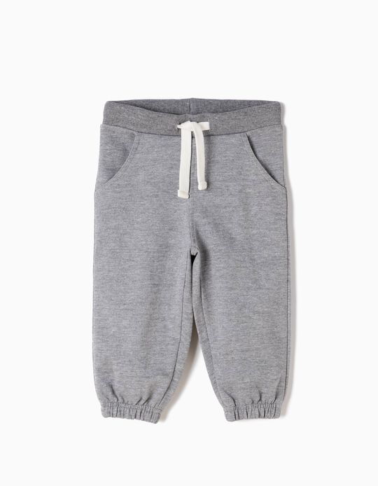 Pantalón de Chándal Básico Gris