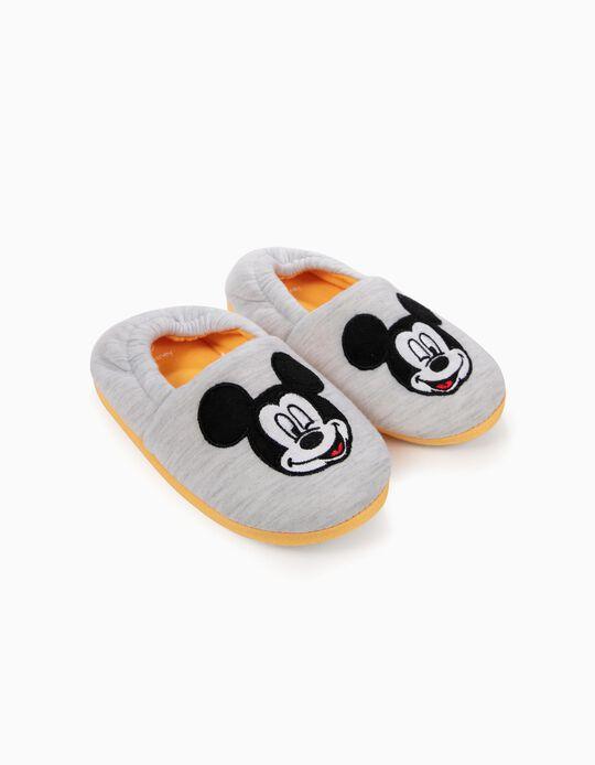 Pantufas para Menino 'Mickey', Cinza