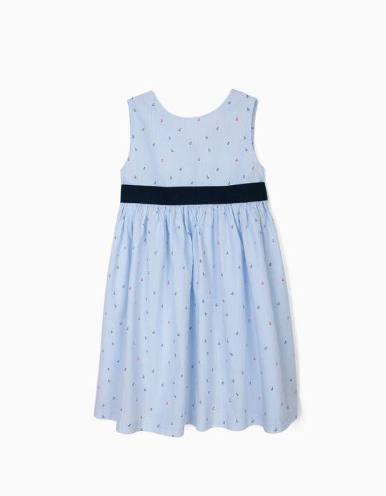 Vestido para Menina 'Anchors', Azul