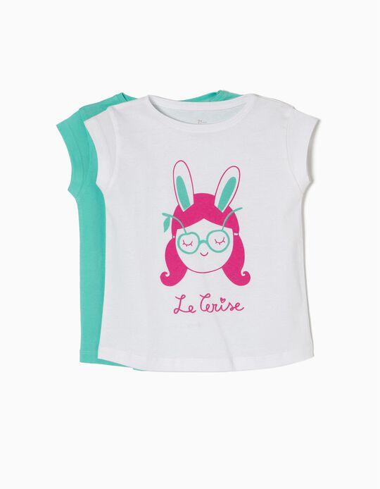 Pack 2 T-shirts Le Cerise