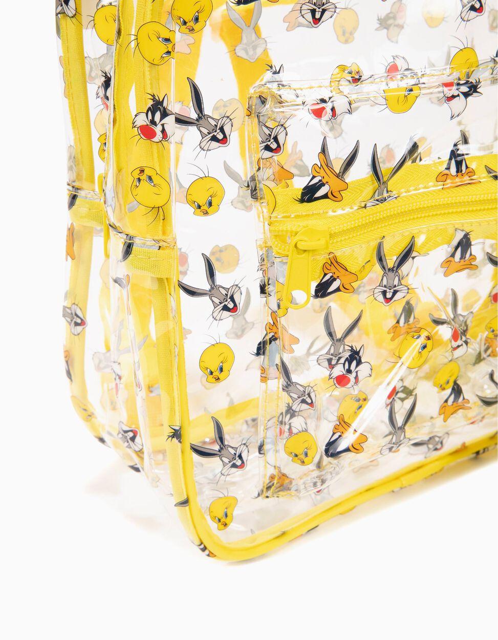 Mochila Looney Tunes Transparente