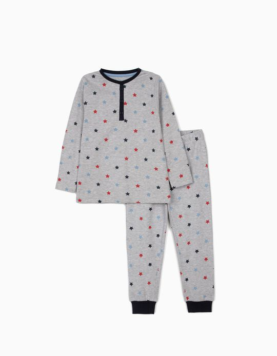 Pyjamas for Boys 'Stars', Grey