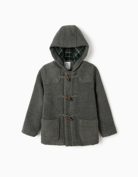 Duffle Coat for Boys 'B&S, Grey