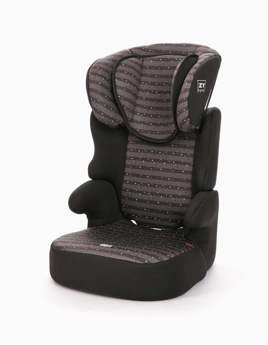 Car Seat Gr 2/3 Izzygo Plus Zy Safe Stars Black