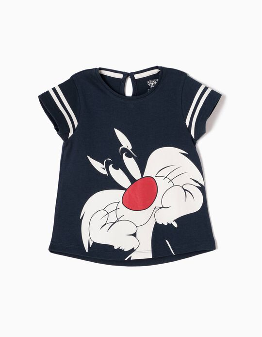 T-shirt Sylvester Azul