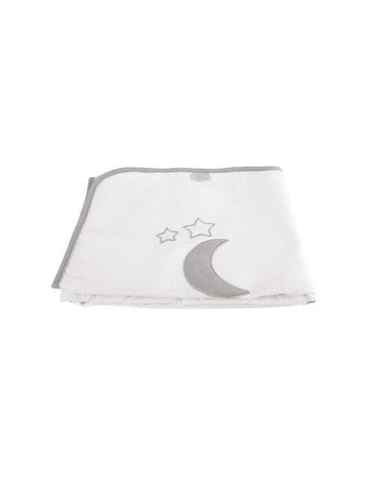 Manta de Verão 90X75cm Silver Moon Rebelde