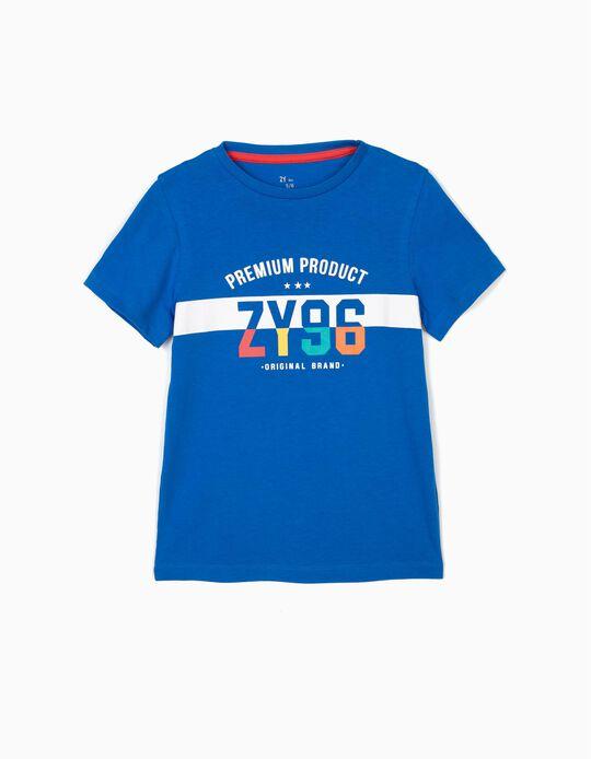 Camiseta para Niño 'ZY 96', Azul