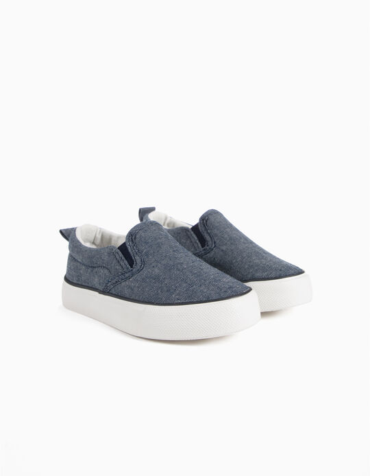Zapatillas Slip On Chambray