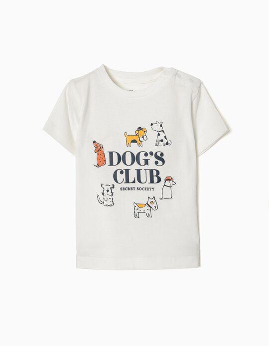 Camiseta Estampada Dog's Club