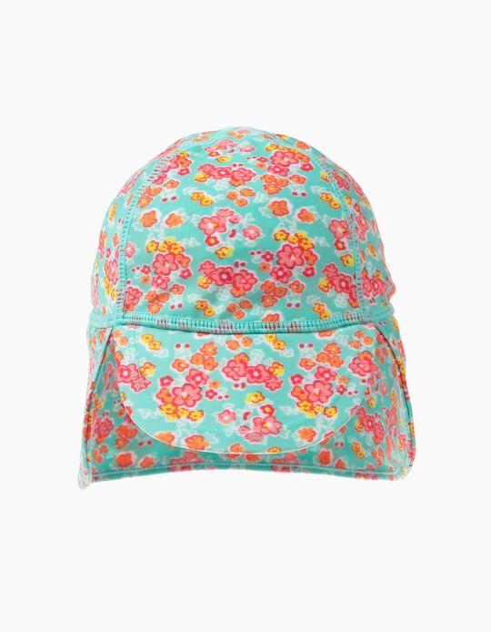 Sombrero de Playa de Flores