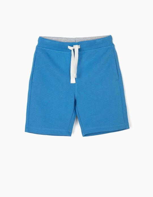 Short Deportivo para Niño, Azul