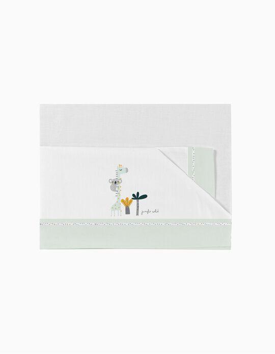 Conjunto de Lençóis para Cama 70X140 cm Koala Green 3 Pcs. Bimbichic