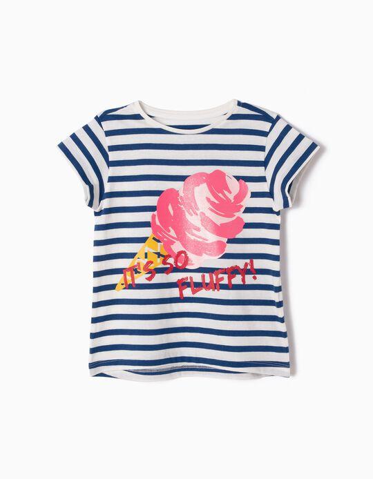 T-shirt Riscas Ice Cream