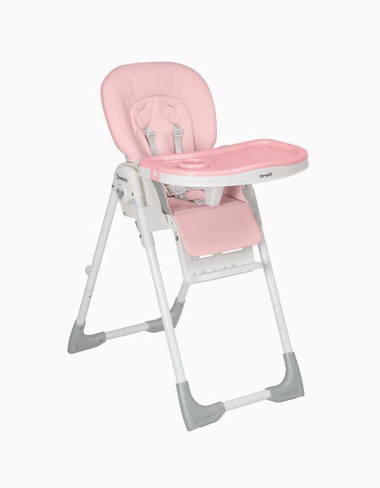 Cadeira Refeição Domino Brevi Rosa