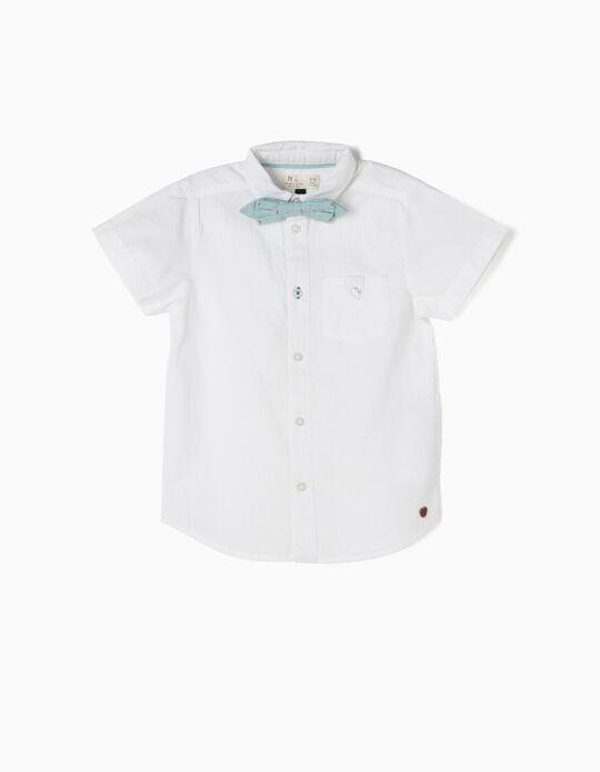 Camisa Manga Corta con Lacito