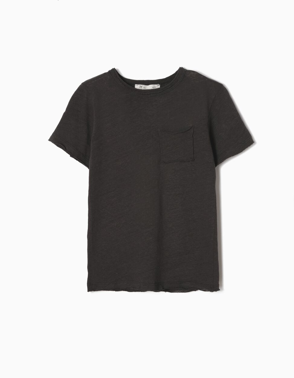 T-shirt Linho Branca Menino