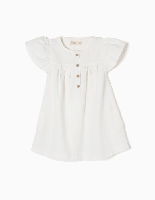 Vestido de Lino Blanco