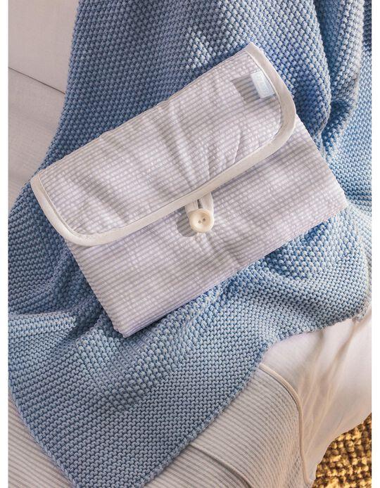 Muda Fraldas Essential Blue Zy Baby