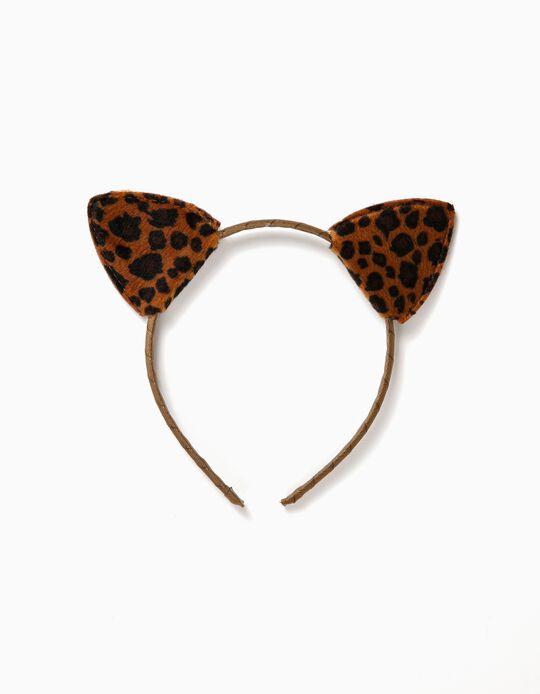 Bandolete Orelhas Leopardo
