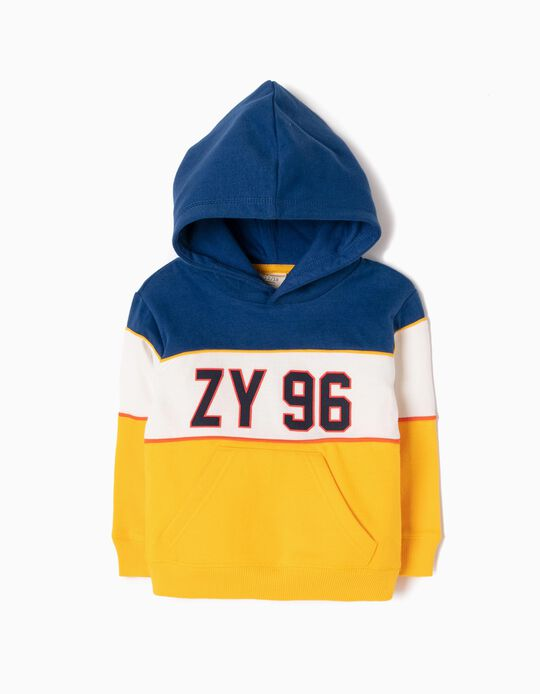 Sweatshirt com Capuz ZY 96 Tricolor