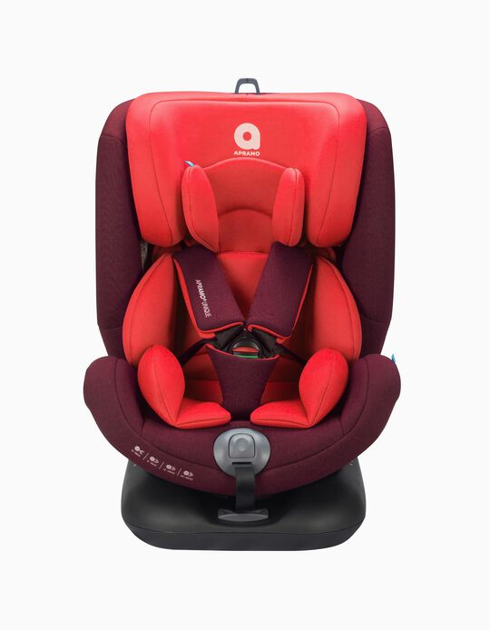 Car Seat Gr0/1/2/3 Unique Apramo Ruby Red
