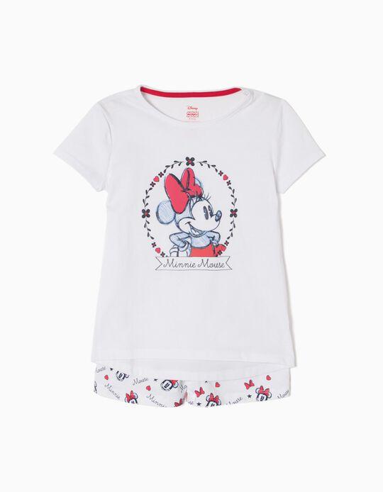 Pijama de Manga Corta Minnie Mouse