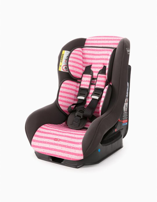 Cadeira Auto Gr 0/1 Izzygo Plus Zy Safe Stars Pink