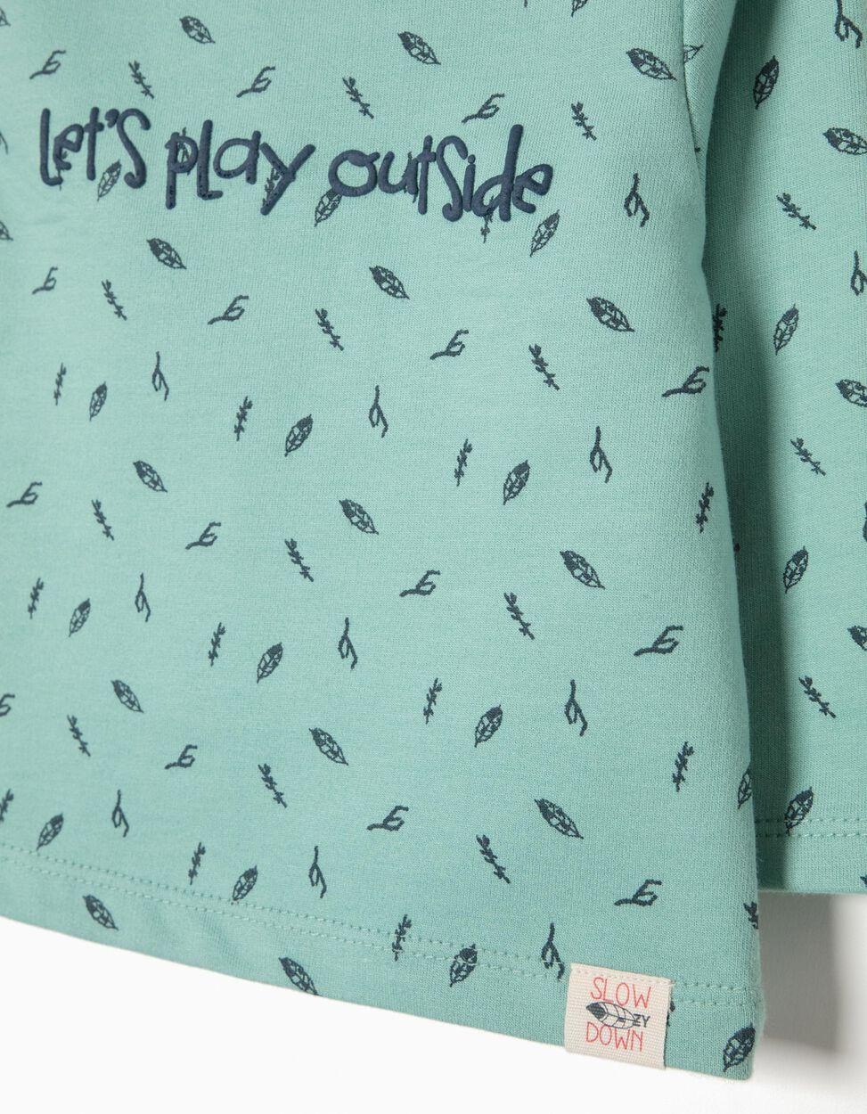 Sweatshirt Estampada Play Outside