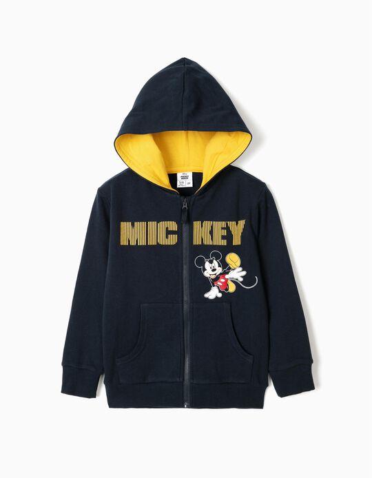 Chaqueta con Capucha para Niño 'Mickey', Azul Oscuro