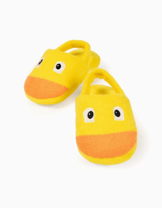 Chinelos para bebé 'Duck', Amarelo
