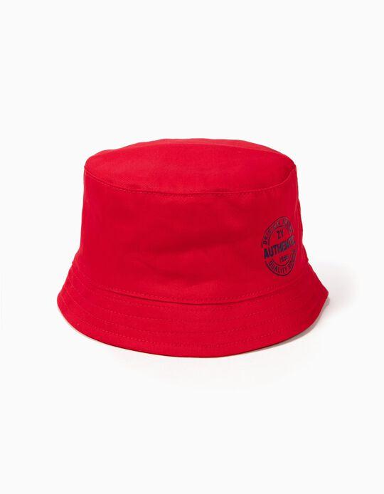 Sombrero para Niño 'ZY 1996', Rojo
