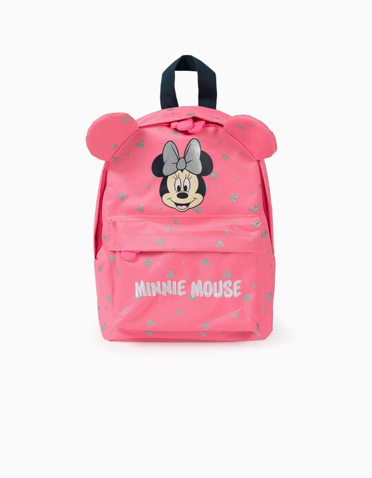 Mochila para Bebé Menina 'Minnie Mouse', Rosa