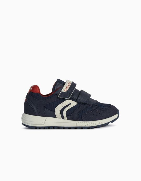 Geox Trainers for Boys, Dark Blue