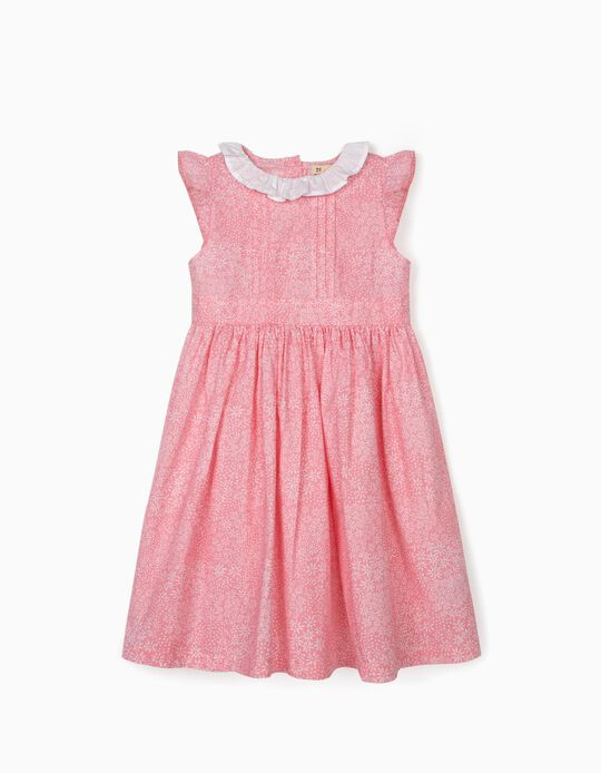Floral Dress for Baby Girls, Pink