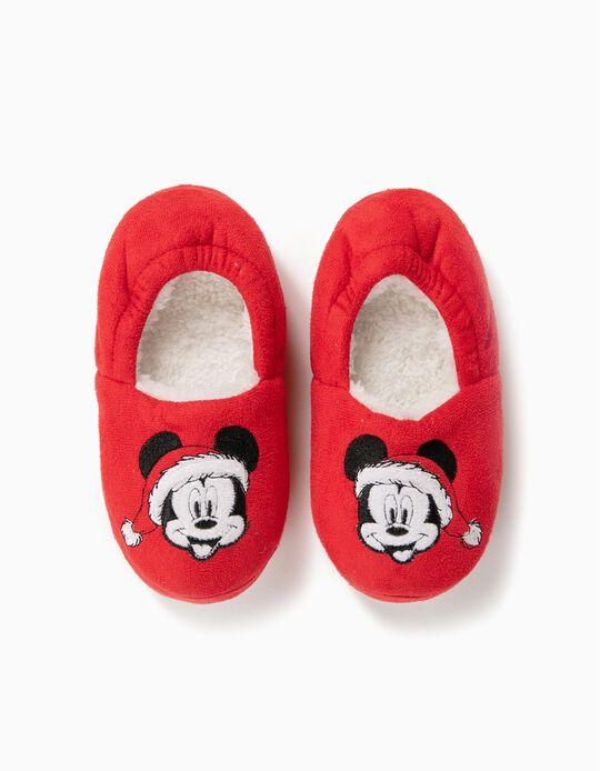 Pantufas Mickey Christmas