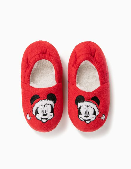 Zapatillas de Casa Mickey Christmas