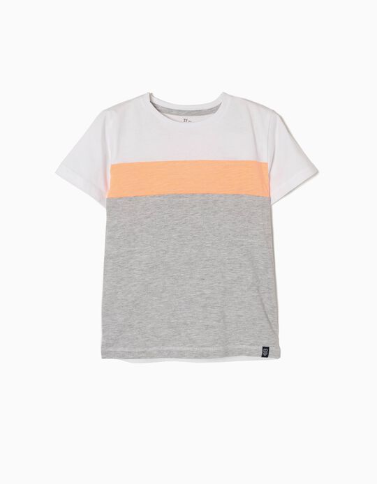 T-shirt Risca Coral
