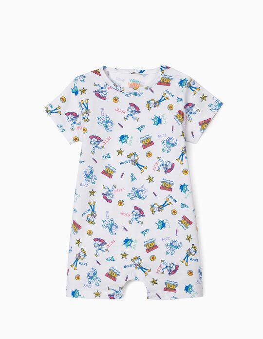 Sleepsuit for Baby Boys, 'Toy Story', White