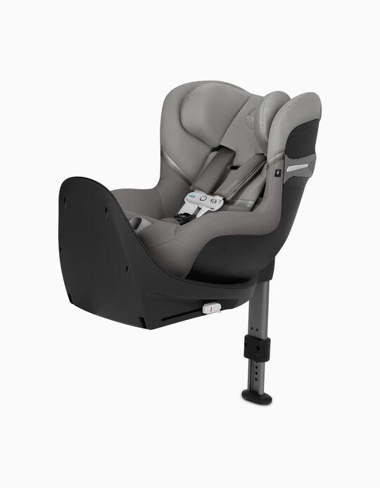 Cadeira Auto I-Size Sirona Sensorsafe Cybex Soho Grey